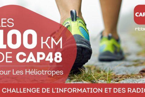 Les équipes info de la RTBF font les 100km CAP48 pour l'association Les Heliotropes !