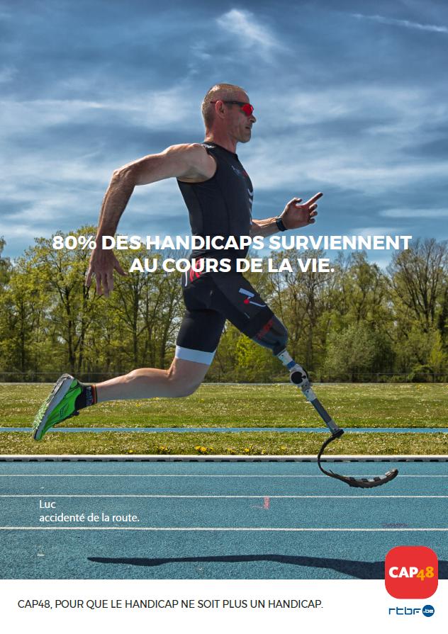 80% des handicaps surviennent au cours de la vie
