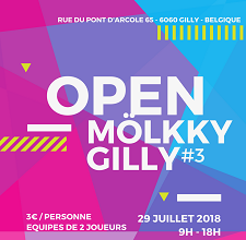 Open de Mölkky Gilly #3