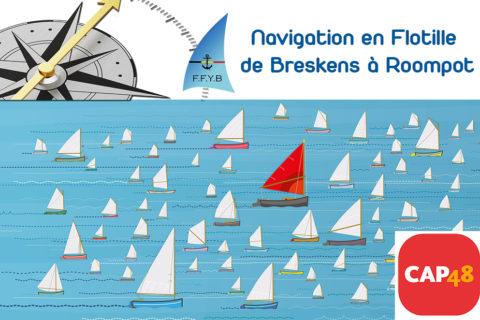 Navigation en flotille