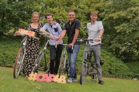 Le 48 Tour : 4 journalistes, 6 asbl, et 200km à vélo