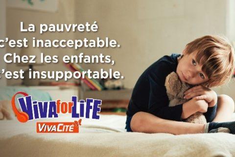 Jusqu'au 23 décembre, Viva for Life compte sur vous!