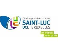 logo Cliniques universitaires Saint-Luc Bruxelles partenaire CAP sur le SPORT