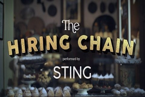 «The Hiring Chain»: une campagne interprétée par Sting pour l'inclusion professionnelle