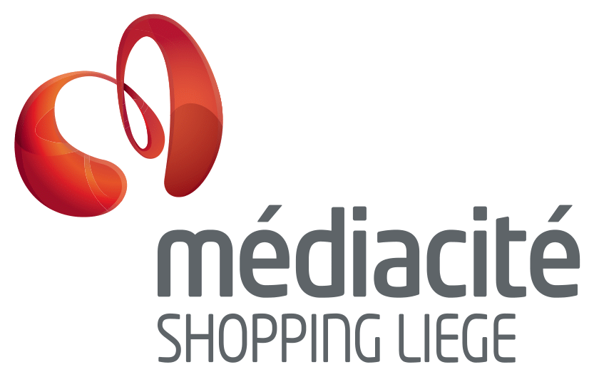 Logo Mediacité Shopping Liège - Partenaire CAP48