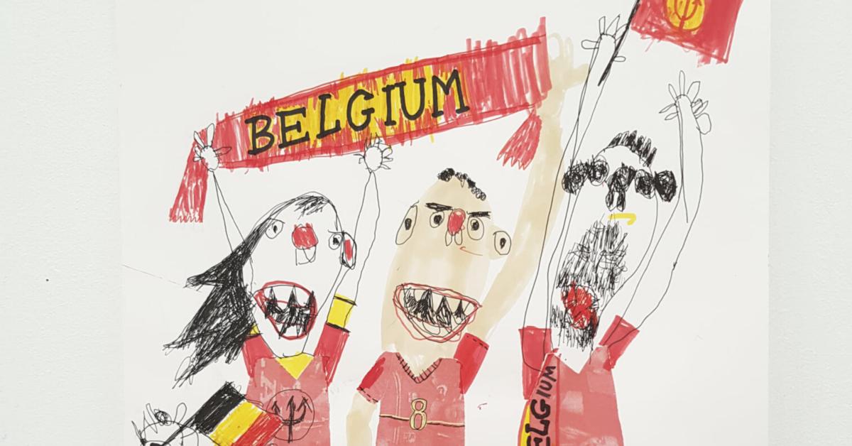 Les Diables vus par les artistes de l'asbl Créahm-Bruxelles
