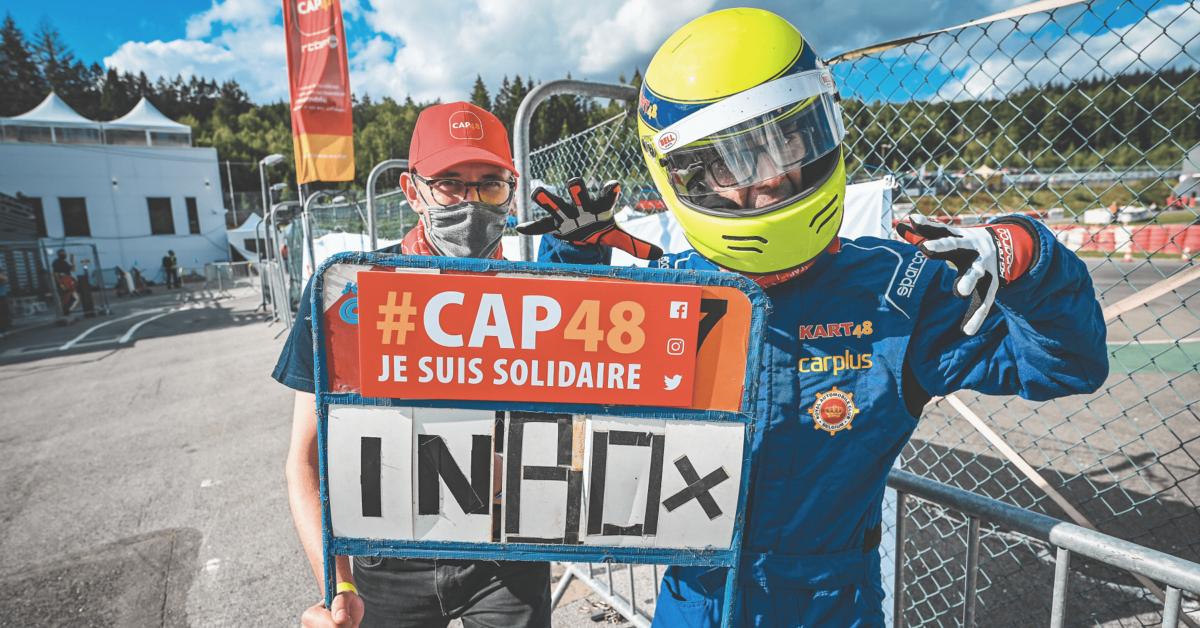 Entraînez-vous au karting au profit de CAP48