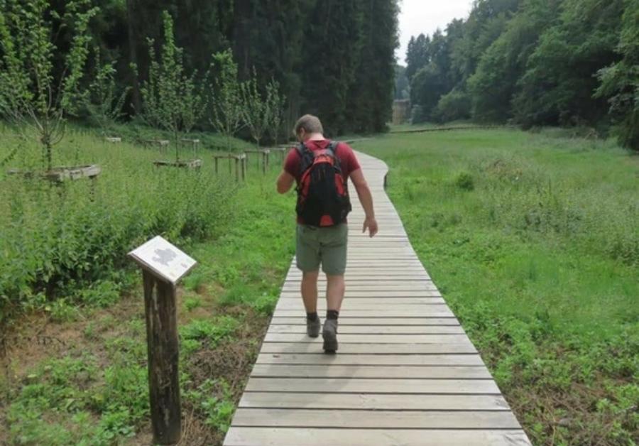 Un pompier va faire le tour du Brabant Wallon à pied pour CAP48